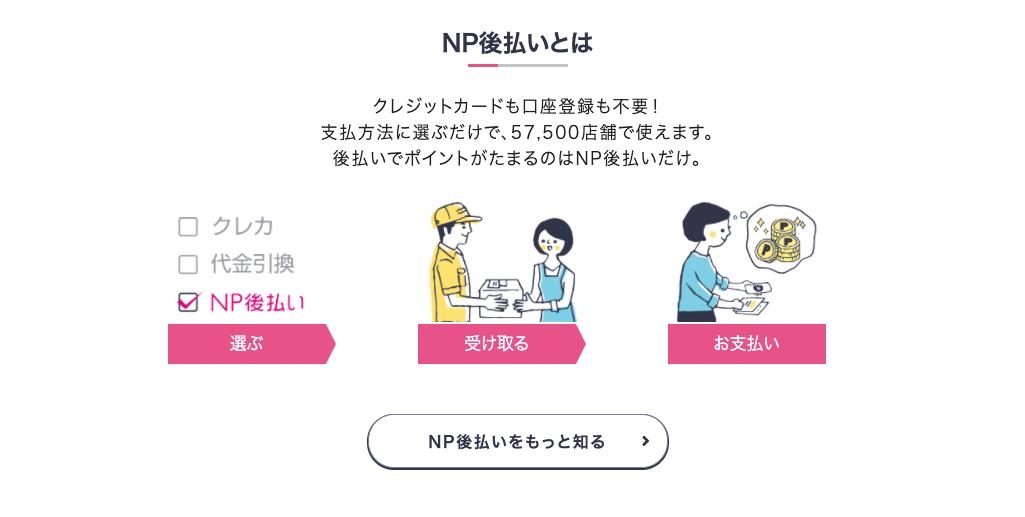 NP後払いってどんなサービス?